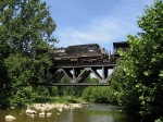 NS 8721 crossing Naked Creek
