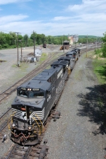 Empty Coal Train at East Deerfield