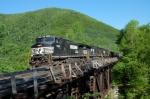 Empty Coal Train at the W.F.P.T Picnic.