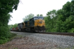 CSX 581 with L156 and his 2 mile long stack train