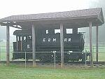 Saddle tank steam engine