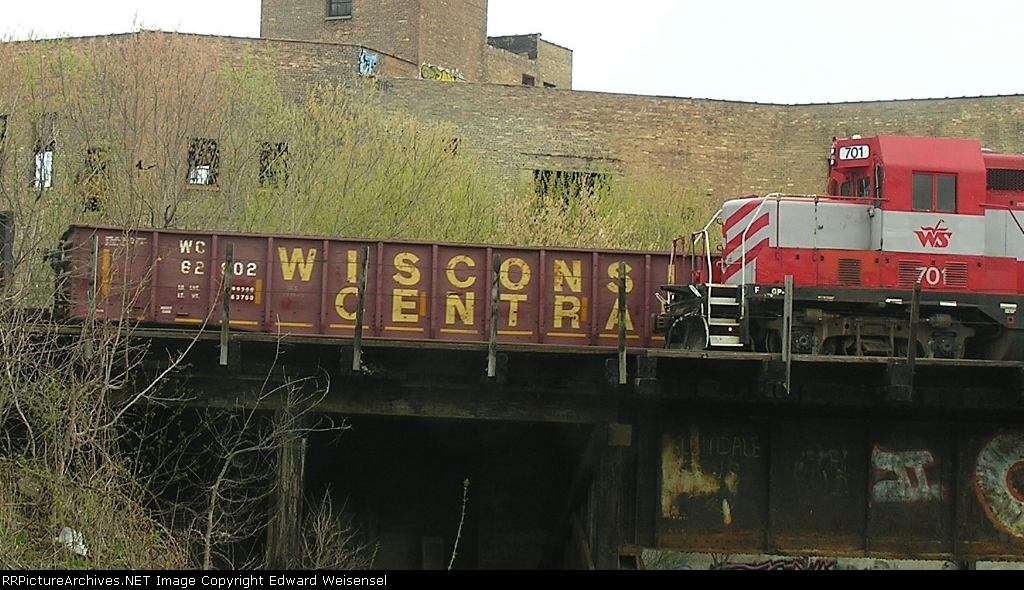 On the WSOR south of Hampton Av. with a late 40s Gp7