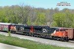 Manifest also had mid-train dpu CN 2907