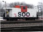 SOO 105 - wears a silly grin.