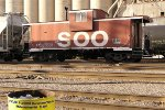 SOO 57 ain't the only thing tagged - I got the trash can ;> }