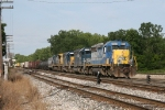 CSX 8024 leading X324 through Lamar