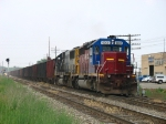 HLCX 6205 & CSX 8570 rolling in on the point of K356