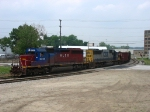 HLCX 6205 & CSX 8570 rolling eastward again with K356