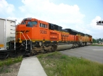 BNSF 9383 & 9851