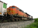 BNSF 5729 & 9806