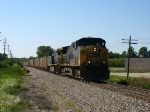 CSX 46 & 116 charging through the sag with K908-08