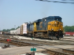 CSX 5383 & 8361 heading out of the yard with L326-11