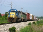 CSX 8427 leading east with Q326-14