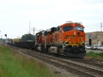 BNSF 5879 & 9474 bringing D801-20 in with the Waverly pick up