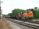 BNSF 5879 & 9474 leading D801 through Lamar