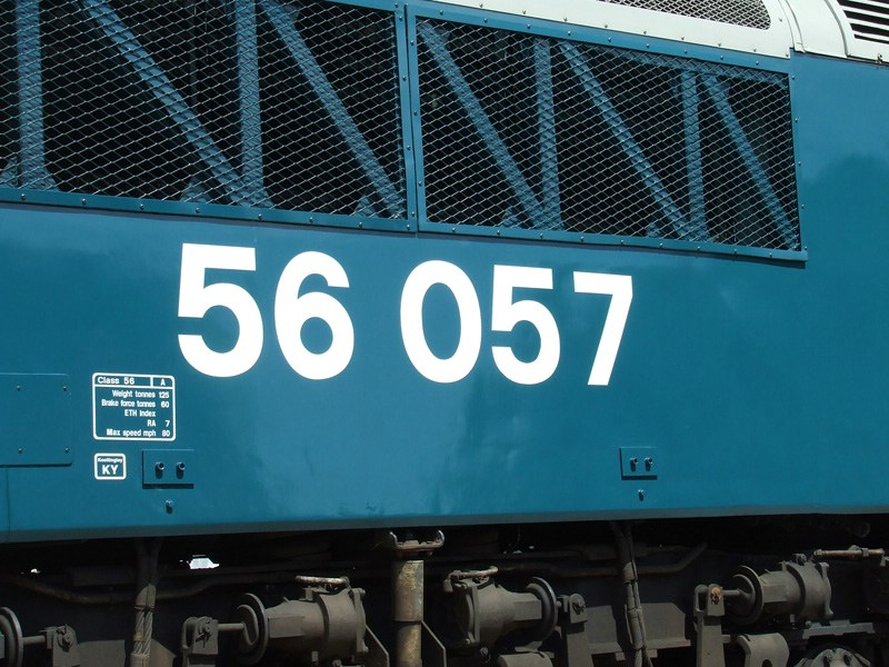 56057's number 1 end.