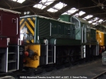 D9516 inside Wansford Shed.