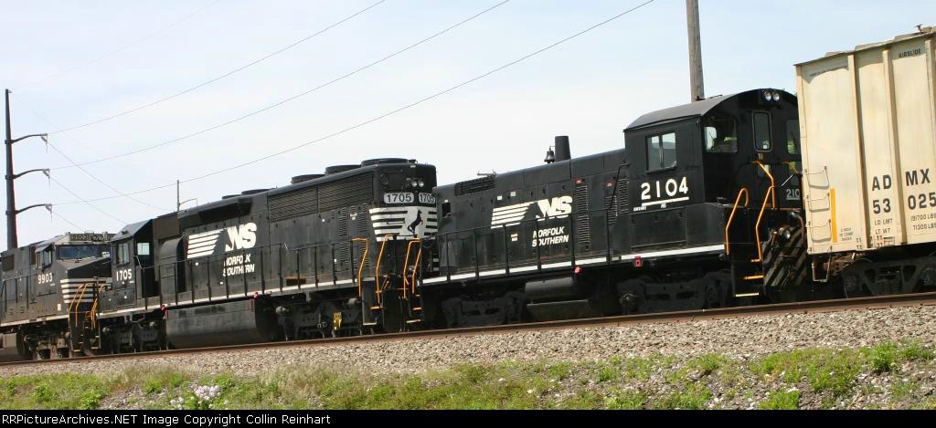 NS 1705 & NS 2104