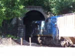 IC 2455 Enters the Local Tunnel