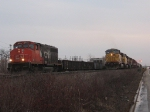 UP 6674 and CN 9427