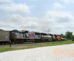 KCS 3912 on loaded TXUX coal southbound