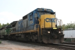 CSX 7534 (Dash8-40C) heads north towards the Howell Wye