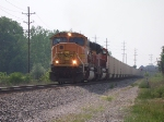 BNSF 9851 & 9383 Leading N596 East
