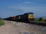 CSX 7831 & GCFX 3072 Lead Q327 Slowly Through The Siding To Run Around Q335