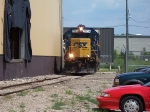 CSX 2654 Shoving Back