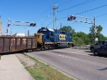 CSX 2654 Blocking Ann St.