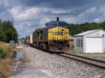CSX 94 Pulls Q334-12 Solo, 7350 Crapped Out