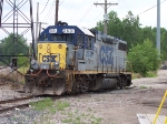 CSX 2631 Coming Up Off The City Market Spur