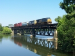 Q326-30 Heading Across The Thornapple River Bridge