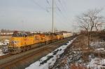 UP 7600 on CSX Q351-19