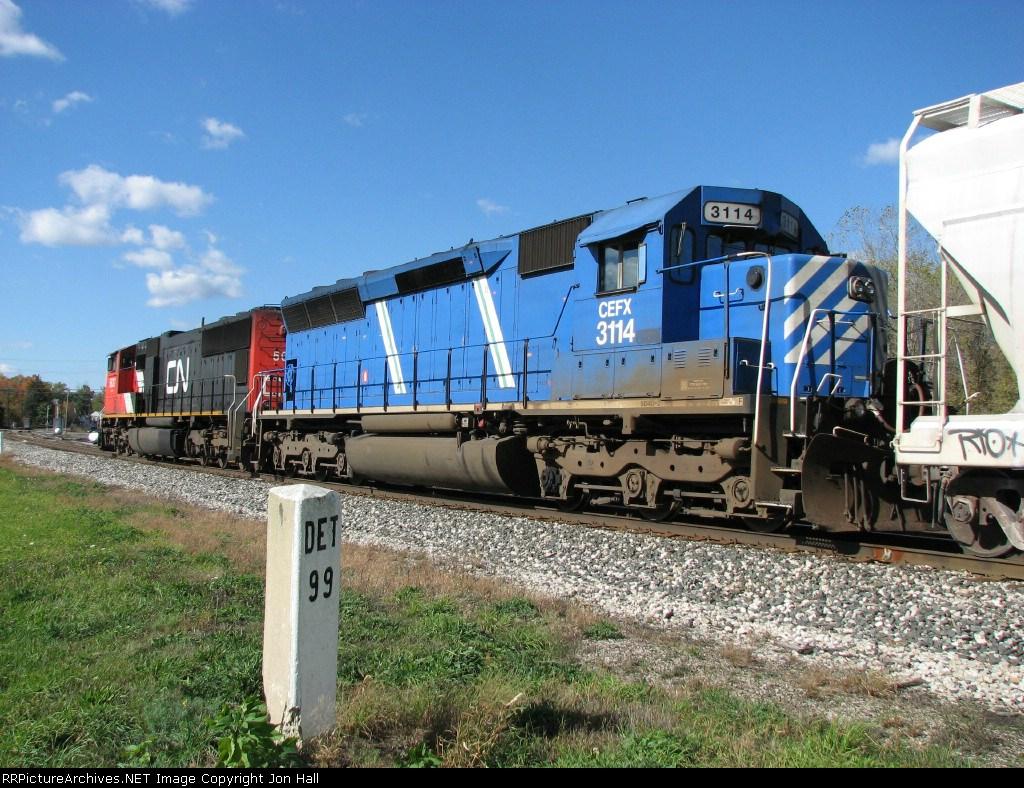 CEFX 3114 & CN 5627
