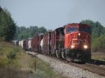 M348 rolling east