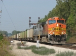 BNSF 5676 & TFM 1613 getting underway with E945-19