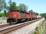 CN 5321 leading Q149 westbound