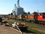 6 BNSF B23-7's heading to their new home on the MM&A in Maine