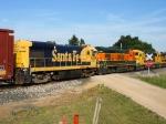 BNSF 4243, 4252 & 4224