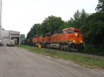 BNSF 5920 & 5617 rolling through the Power Block on D803-23 with coal loads for West Olive