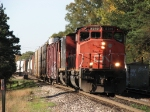 CN 5319 leading M396 out of the yard
