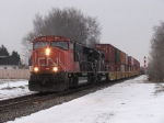 CN 5695 & IC 6067 head west with A457