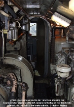 47270, looking through the auxilliary compartment through to the No.1 end cab. Showing restricted headroom.