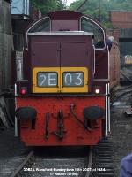 D9523 shunts a TPO van.