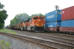 BNSF 9358 with DEEX loads