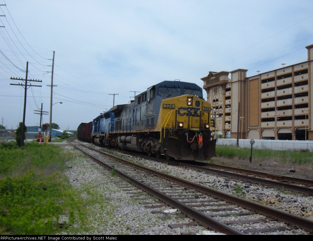 CSX 334 & CEFX 3147