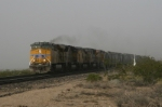 UP 5279 in a dust storm