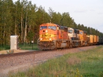 BNSF 8960 passing by MP 93.0