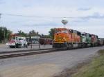 BNSF 8269, BNSF 9241 and BNSF 8204